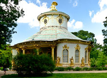 China house. In the Sans Souci park, Potsdam Royalty Free Stock Image