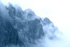 China Huangshan. The cloud around China Huangshan Stock Photo