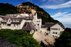 China Huangshan Beihai Hotel Royalty Free Stock Photos