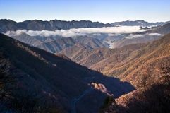 China Hubei Shennongjia Mountains landscape Royalty Free Stock Images
