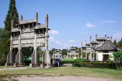 China huizhou paifang Royalty Free Stock Photos