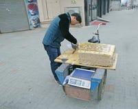 China Hunchun noviembre 13,2013 Imágenes de archivo libres de regalías