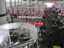China Import and Export Fair 2010 - machinery Royalty Free Stock Photography