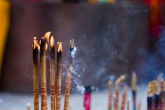 China incense stove Royalty Free Stock Image
