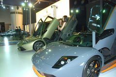 China international Automobile exhibition Royalty Free Stock Images