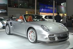 China international Automobile exhibition Porsche Stock Photography