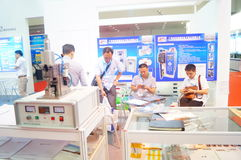 China International Battery Technology Exchange Conference / Exhibition (CIBF). Held in Shenzhen Convention and Exhibition center. China International Battery Royalty Free Stock Photos