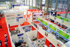 China International Battery Technology Exchange Conference / Exhibition (CIBF). Held in Shenzhen Convention and Exhibition center. China International Battery Stock Photos