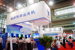China International Battery Technology Exchange Conference / Exhibition (CIBF). Held in Shenzhen Convention and Exhibition center. China International Battery Stock Images