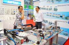 China International Battery Technology Exchange Conference / Exhibition (CIBF). Held in Shenzhen Convention and Exhibition center. China International Battery Royalty Free Stock Image