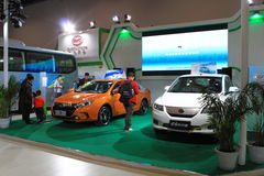2014 China International Exhibition on Green and Energy Efficient Vehicles Stock Image