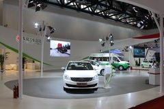 2014 China International Exhibition on Green and Energy Efficient Vehicles Royalty Free Stock Photography