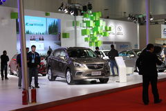 2014 China International Exhibition on Green and Energy Efficient Vehicles Royalty Free Stock Photo