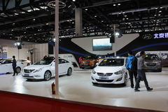 2014 China International Exhibition on Green and Energy Efficient Vehicles Royalty Free Stock Photos