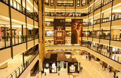 China: Isetan shooping mall  Royalty Free Stock Photos