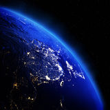 China and Japan. Elements of this image furnished by NASA stock photos