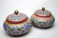 China jar stock photo