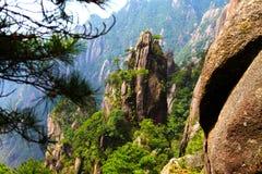 China jiangxi province sanqing hill mountain. Sanqing hill mountain located in Jiangxi province, China Stock Image