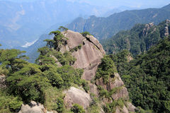 China jiangxi province sanqing hill mountain Royalty Free Stock Photography