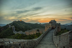China Jinshanling Great Wall in Hebei. Eastphoto, tukuchina,  China Jinshanling Great Wall in Hebei Royalty Free Stock Images