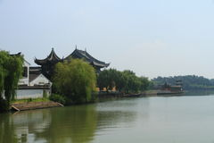 China ,Jinxi Water Village Royalty Free Stock Photo