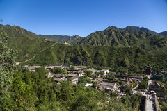 China, Juyongguan. The outpost of the Great Wall of China Royalty Free Stock Photo