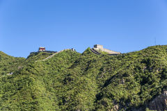 China, Juyongguan. Outpost and mountain section of the Great Wall of China Stock Photos