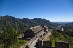 China, Juyongguan Torre de la Gran Muralla Imagenes de archivo