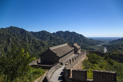 China, Juyongguan. Tower  of the Great Wall Stock Images
