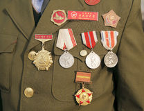 China Korean War veterans Royalty Free Stock Images