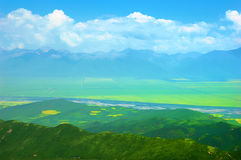 China Landscape,Qinghai Mountain Royalty Free Stock Photos