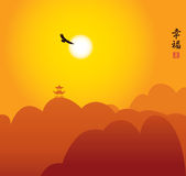 China-Landschaft Lizenzfreies Stockfoto