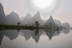 China-Landschaft Stockfoto