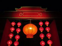 China lanterns Stock Photography