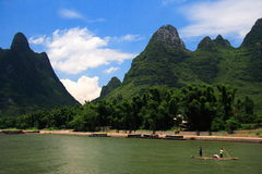 China - Li river Royalty Free Stock Photos