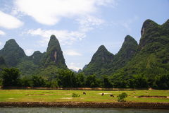 China - Li river landscape  Stock Photo