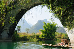 China - Li-river, Yangshuo Royalty Free Stock Images