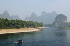 China - Li-river, Yangshuo Royalty Free Stock Photography