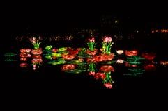 China-Lichter Stockfoto