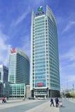 China Life-Hauptsitze, Finanzstraße, Peking, China stockbild