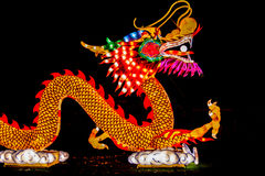 China light dragon side view Stock Photos