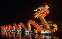 China light festival rotterdam Stock Photography