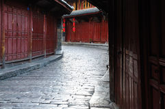 China - Lijiang. Lijiang old city, China. Yunnan province royalty free stock photos
