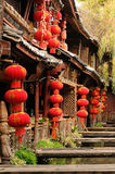 China - Lijiang. Lijiang old city, Wooden architecture,China. Yunnan province royalty free stock photography