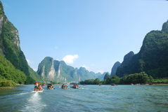 China Lijiang River Royalty Free Stock Photography