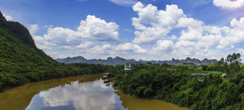 China longzhou scenery Royalty Free Stock Photos