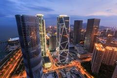 China-Luftfahrt Zijin-Quadrat stockfotografie