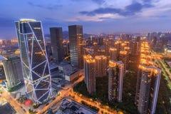 China-Luftfahrt Zijin-Quadrat stockfoto