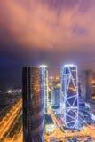 China-Luftfahrt Zijin-Quadrat stockbild