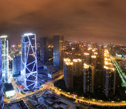 China-Luftfahrt Zijin-Quadrat lizenzfreie stockfotografie